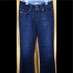 Paige H.H Boot Cut Dark Wash Jeans